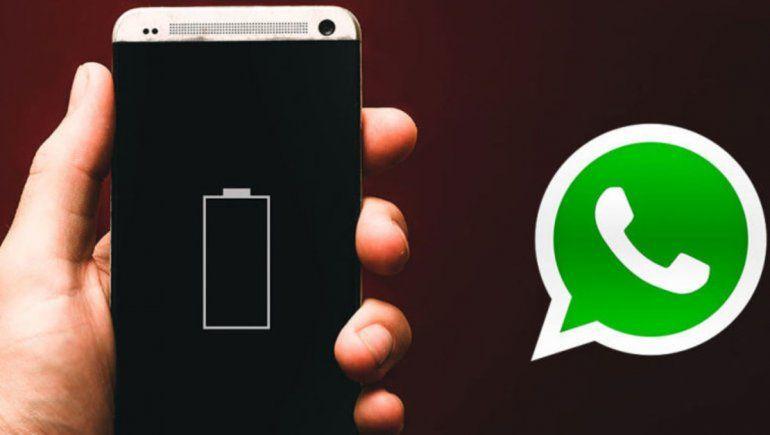 WhatsApp: ajustes que alargan la vida en la batería de tu móvil