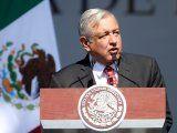 El presidente de México, Andrés Manuel López Obrador, durante un discurso por el primer año de su gobierno, en Ciudad de México, Diciembre 1, 2019. REUTERS/Edgard Garrido
