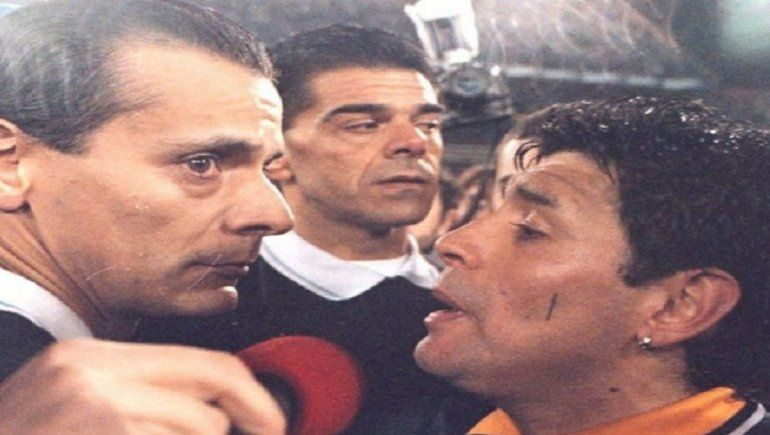 A 25 años del histórico Maradona vs. Castrilli: ¿Usted está muerto?