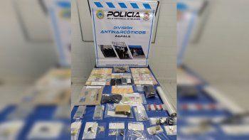 desbarataron un kiosco narco en villa pehuenia