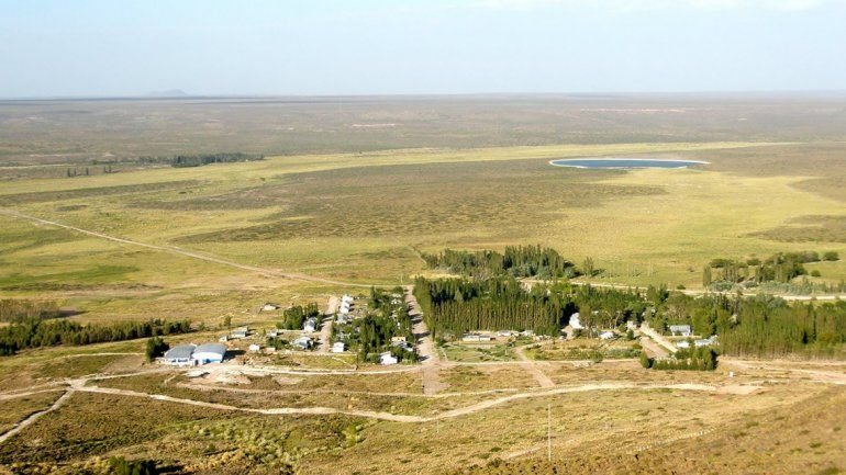 Santo Tomás es un pequeño pueblo que vive del agua mineral de una vertiente.