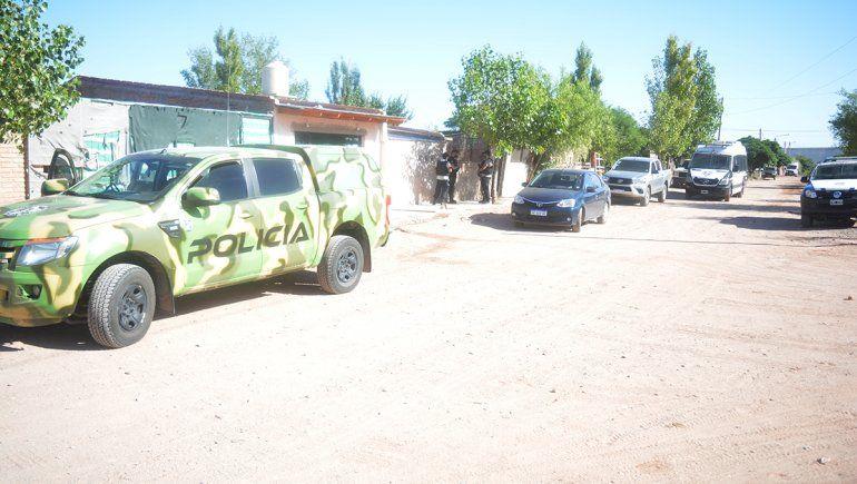 Megaoperativo en Rincón: secuestran armas y drogas