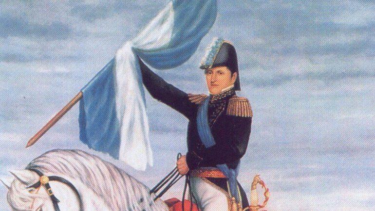 Un prócer atormentado que creó la bandera con un acto de insubordinación