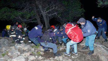 San Martín: estaba en un mirador y murió al caer por un barranco