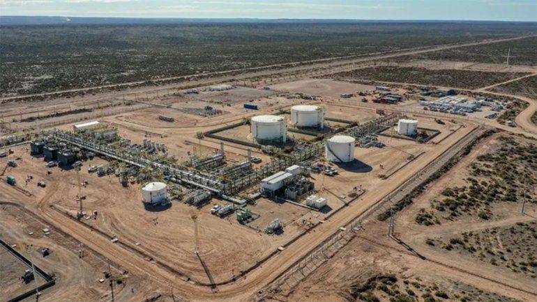 Shell puso en marcha su segunda planta de procesamiento en Vaca Muerta