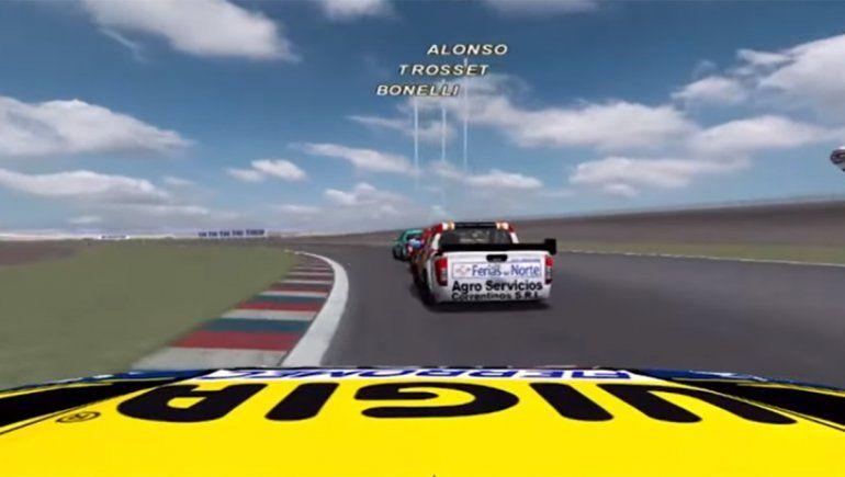 Benvenuti no pudo repetir su triunfo en Centenario en la realidad virtual