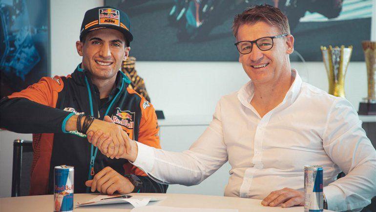 Kevin Benavides defenderá su corona en el Dakar bajo los colores de KTM