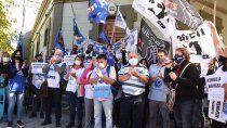los gremios se movilizaron en defensa de la salud publica