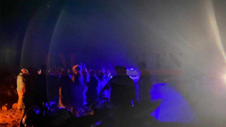 En fotos: así se vivía la fiesta clandestina en Los Barreales