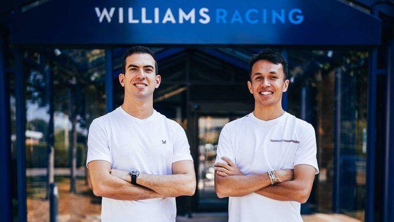 Alex Albon completará la alineación de Williams en el 2022 de la Fórmula 1