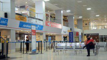 el aeropuerto solo opera el 5% de los vuelos prepandemia