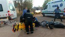 murio un adolescente en moto tras un brutal accidente