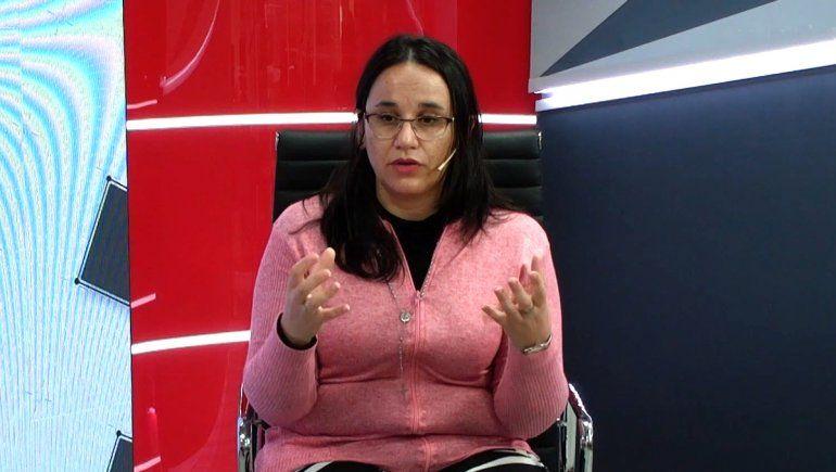 María Carballo, licenciada en Recursos Humanos.