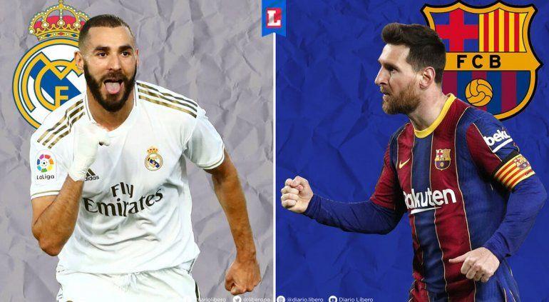 El partido del año en España: Real Madrid-Barcelona, Hora, TV y formaciones
