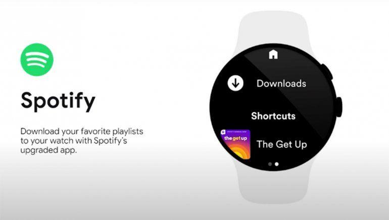 Spotify ya permite descargar música en los smartwatches con Wear OS