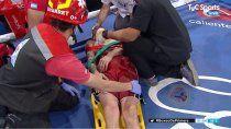 confusion en el ring: fue acusado de simular, gano y termino en el hospital