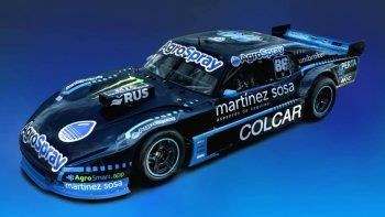 El equipo Squadra Canapino presentó en sociedad el diseño con el que Agustín competirá en una nueva temporada de TC.