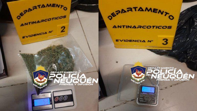 La Policía secuestró la droga que era comercializada en un shopping en el Alto Neuquino.