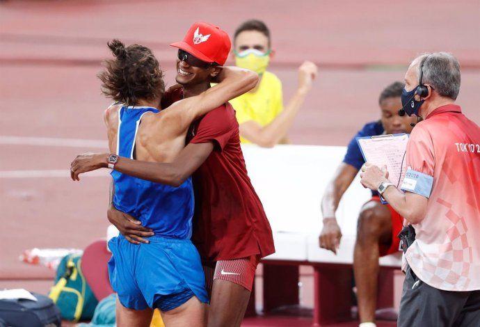 Tenían la misma marca, podían desempatar pero decidieron compartir la medalla de oro