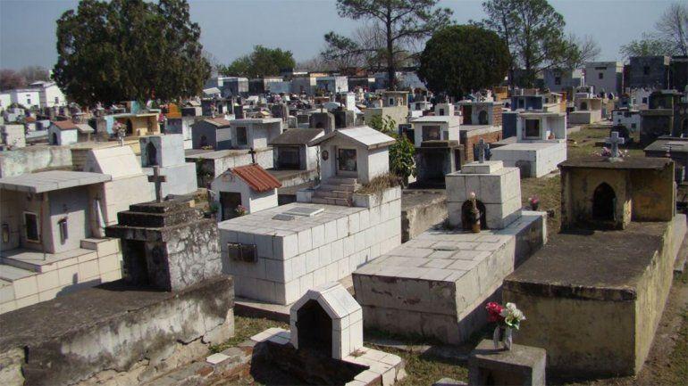 El cementerio de la capital de Chaco está colapsado