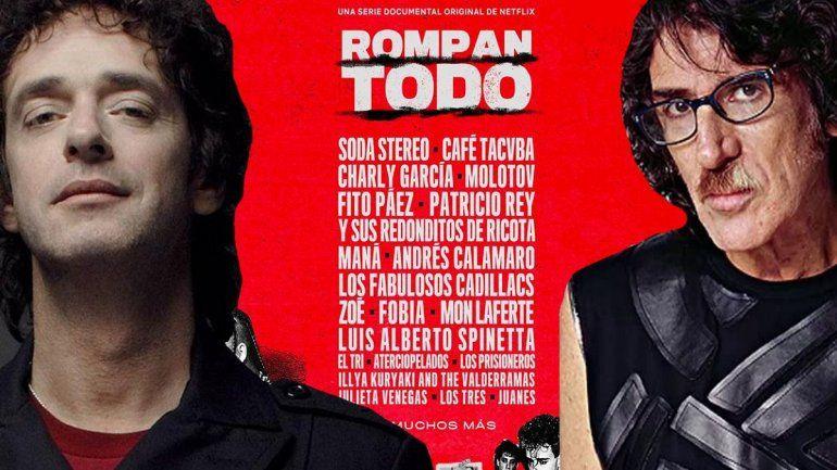 Rompan Todo, la serie documental original de Netflix sobre el Rock Latinoamericano