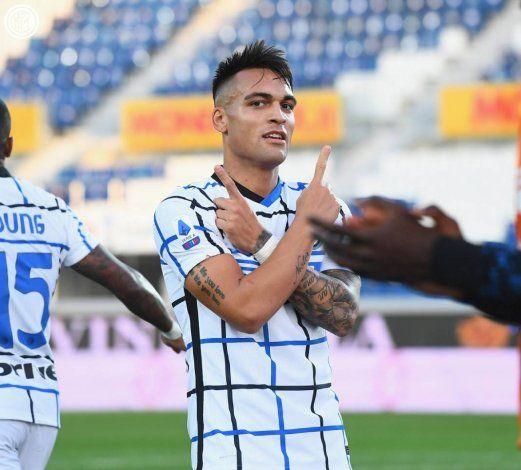 Lautaro Martínez marcó un impresionante gol en un encuentro entre Inter y Atalanta.
