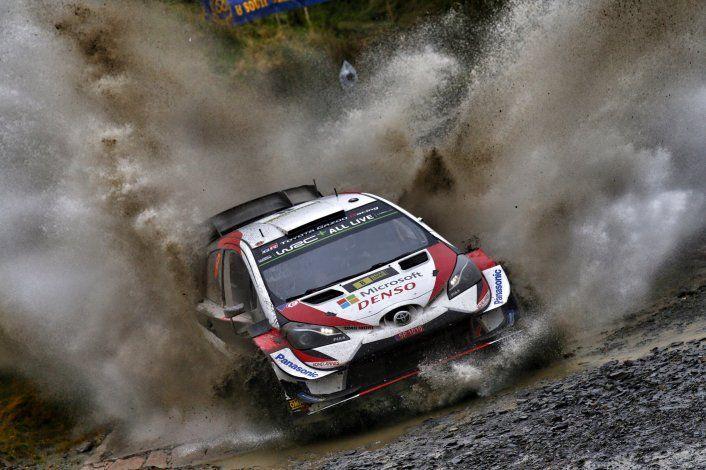 Ott Tänak se llevó el premio mayor en el Rally de Gales