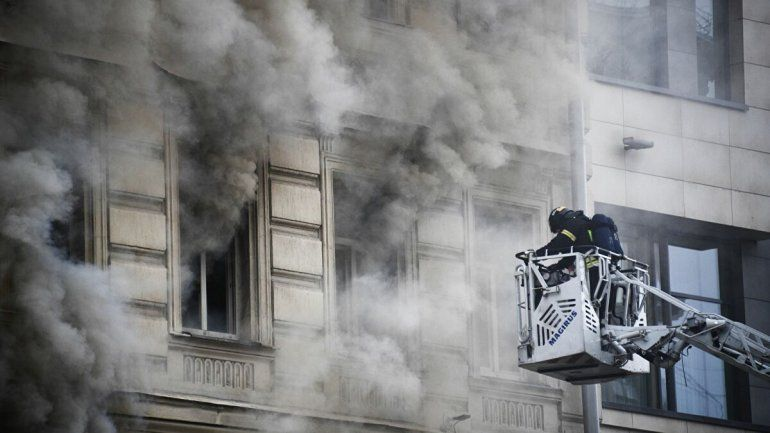 Aún se desconocen las causas del incendio que puso en peligro la vida de dos niños.