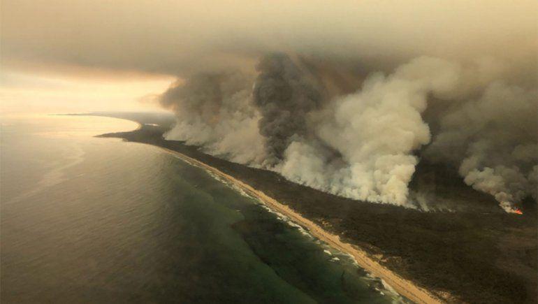 Australia sigue en alerta: llaman a evacuar el sureste del país ante el aumento de la temperatura