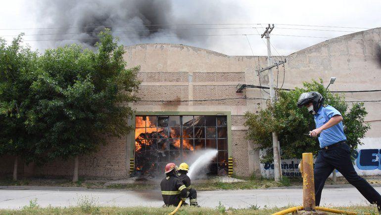 Incendio en Cervi: Es un trabajo de 50 años de toda la familia