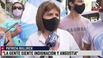 bullrich reclamo en la marcha del #27f: ojala el presidente pida perdon