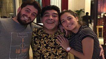 Terrible revelación de Ventura: Uno de los cinco hijos de Maradona no es de él y lo sabía