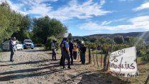 unas 400 familias tomaron un terreno en junin de los andes