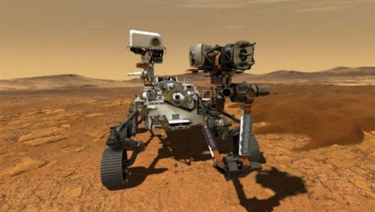 La NASA difunde primeros audios y videos del Perseverance en Marte