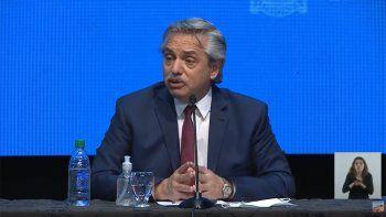 Alberto Fernández anunció la extensión del aislamiento en Neuquén