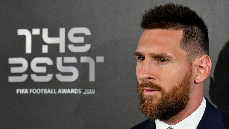 Mientras Conmebol lo destrata, FIFA lo premia: Messi ganó el The Best 2019
