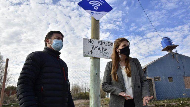 La Muni sumó un punto de WiFi gratuito en Los Hornitos