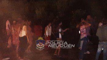 Desactivan una fiesta clandestina con menores en San Martín