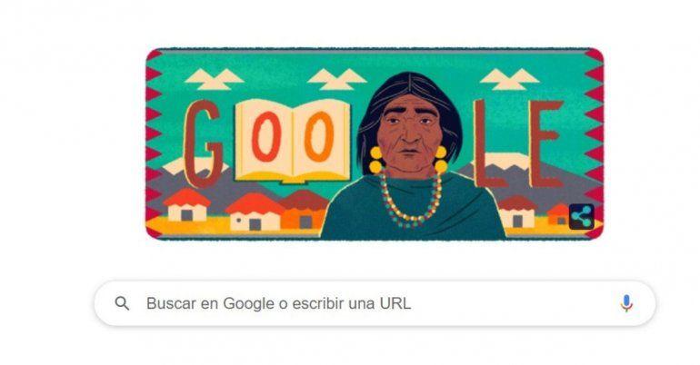 Google dedica su doodle a la ecuatoriana Dolores Cacuango
