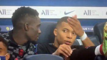 La bronca de Mbappé con Neymar.