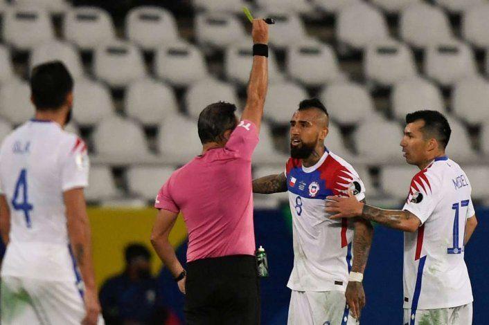 Arturo Vidal calentó la previa ante Brasil: Lo estoy esperando hace tiempo