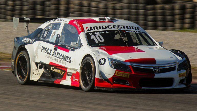 Diego Azar y Toyota ganaron la cuarta fecha del Top Race en Buenos Aires