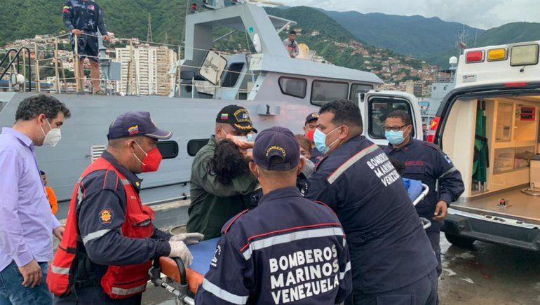 Salvaron a dos niños que naufragaron por tres días