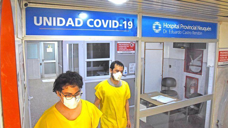 La terapia intensiva Covid suma dos pacientes nuevos por día