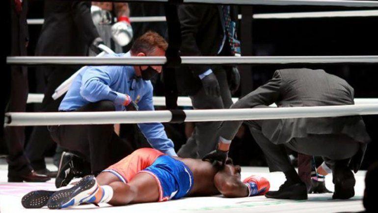 Nate Robinson recibe una paliza en su debut boxístico