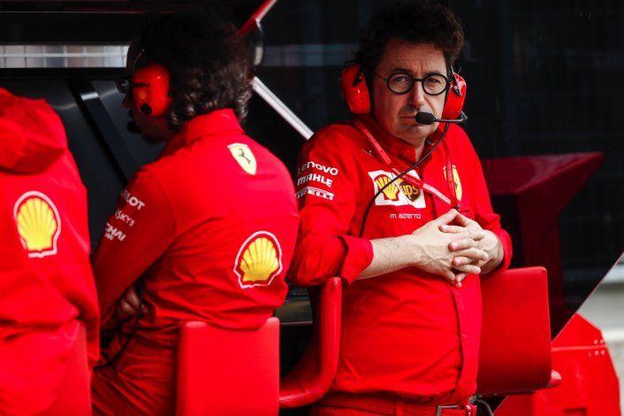 Mattia Binotto señaló que es muy probable que Ferrari vuelva a sufrir en Monza al igual lo hizo en Bélgica el pasado fin de semana.