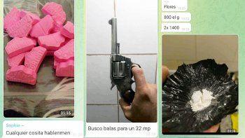Drogas, armas y sexo: lo que los cipoleños buscan en Telegram