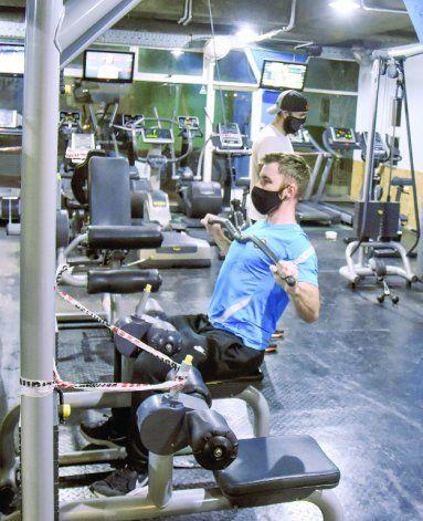 Los gimnasios reabrieron el 14 de julio con un estricto protocolo.