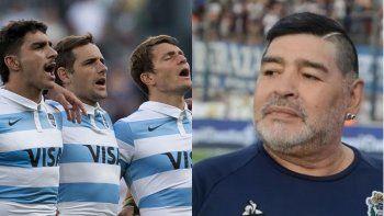 Maradona no tuvo el reconocimiento esperado de parte de Los Pumas.