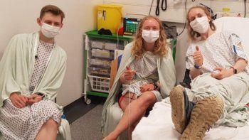 Viral: un rayo alcanzó a tres hermanos mientras se tomaban una selfie.